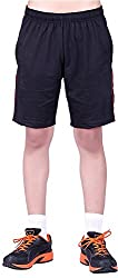 DFH Men's Cotton Shorts (MNBL1_$P, Black, L)