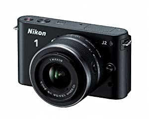 Nikon 1 J2 10.1 MP HD Digital Camera with 10-30mm VR Lens (Black)