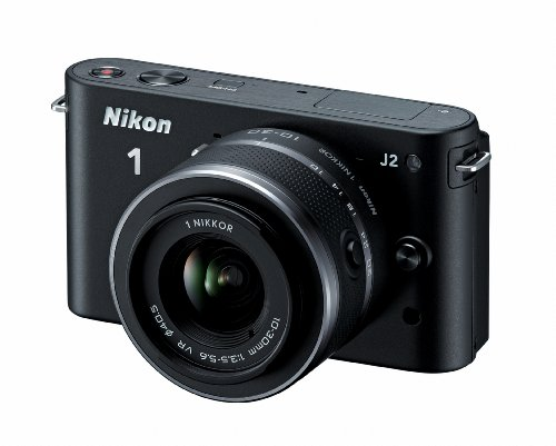 412nGAlnmsL Nikon 1 J2 10.1 MP HD Digital Camera with 10 30mm VR Lens (Black)