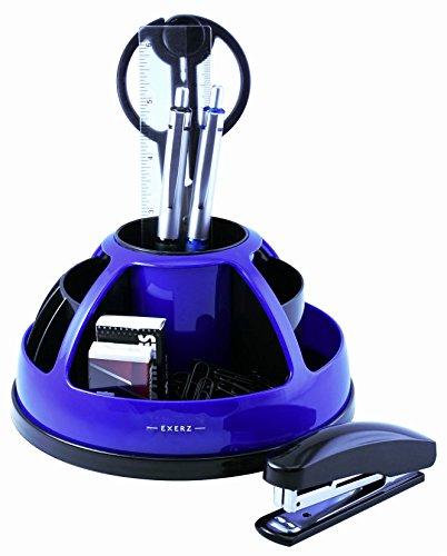 exerz-ex899-o-life-360-swivel-rotating-desk-organiser-with-stationery-set-scissors-stapler-staples-p