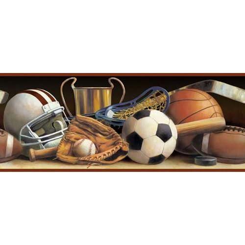 All Sports Wallpaper Border - - Amazon.com