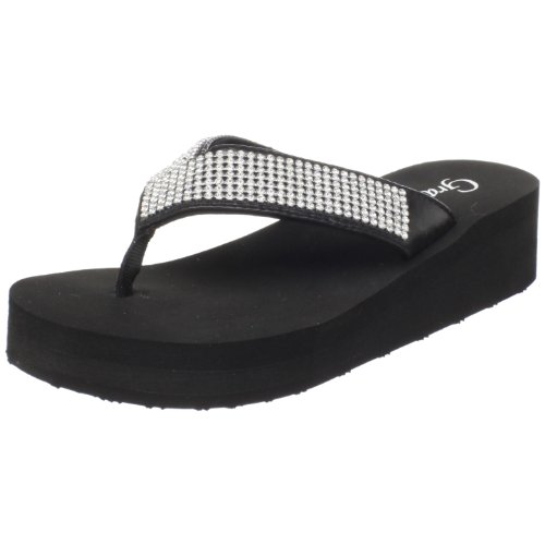 Grazie Women'S Cosmic Sandal,Black,5.5 B Us back-559735