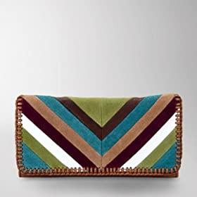 Fossil Fifty-Four Willow Chevron Clutch