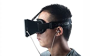 Xiaozhai® Head Mount Virtual Reality 3D Video Glasses for 3.5~7'' Smartphones iPhone 6 Plus Samsung Galaxy S6 S5 LG 3D Movies Google Cardboard