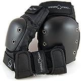 ProTec Street Pads 3 Pack - Knee Pads, Elbow Pads, Wrist Guards