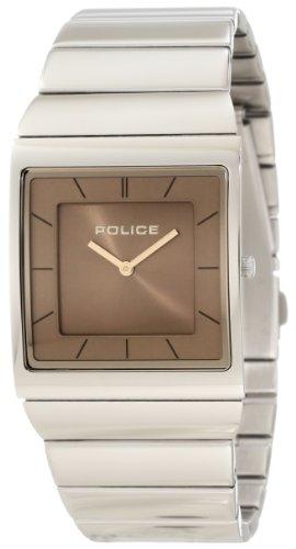 Police Skyline M P12669MS-04MA - Reloj unisex de cuarzo, correa de acero inoxidable color plata