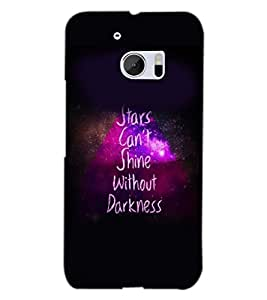 PRINTSWAG QUOTE Designer Back Cover Case for HTC 10