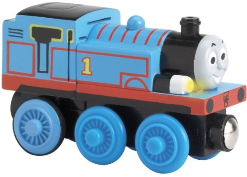 Thomas and Friends Wooden Railway Train - Lights and Sounds Thomas - Loose Brand New (Roll And Whistle Emily compare prices)