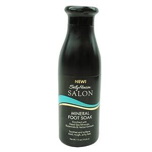 Sally Hansen Saloon Mineral Foot Soak 7.3 oz/215.8 ml