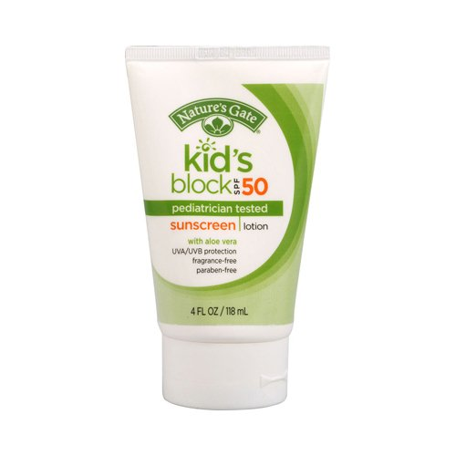 Sunblock-Kid'sblock SPF50 Nature's Gate 4 oz Lotion - 1