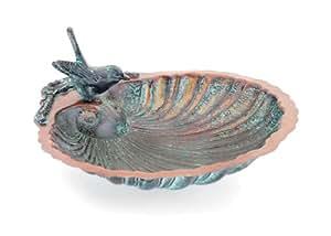 Achla Designs Scallop Shell Birdbath and Feeder