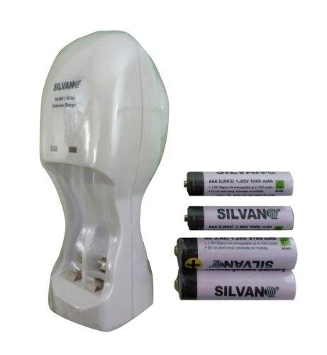 Chargeur de piles AA rechargeables AA-AAA-mini Chargeur pour piles d'appareil photo numérique-Jeux-Torcie-Lecteur Mp3 sans-fil