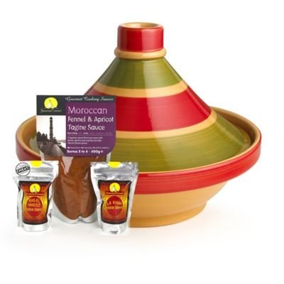 Large Traditional Tagine & Seasoning Starter Gift Pack from lakeland