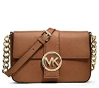 MICHAEL Michael Kors Fulton Small Messenger (Luggage)