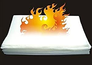 (50cm *20cm D*9999) NEW Large Flash Paper Fire Paper(50cm *20cm) for 10pcs Magic Props Magic Tricks