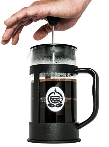High End French Press Coffee Maker : High Quality French Press Coffee Maker And Measuring Spoon - Large Brewer Makes 34 Ounces of ...