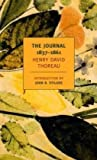 The Journal of Henry David Thoreau 1837-1861 (New York Review Books Classics)