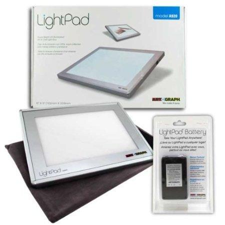 Artograph Led Lightpad 6X9 A920 W Batt Pack