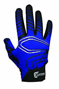 Buy Cutters Gloves Youth REV Receiver Glove (Pair) by Cutters