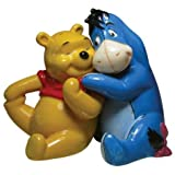 3.75 Inch Winnie the Pooh Bear with Eeyore Salt and Pepper Shakers