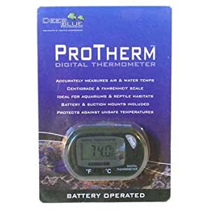 Deep Blue Professional ADB12305 Protherm Digital Thermometer for Aquarium
