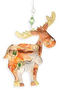 Pilgrim Imports Moose Love Fair Trade Ornament