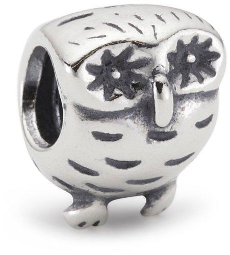 Pandora Unisex-Bead Sterling-Silber 925 Eule 790278