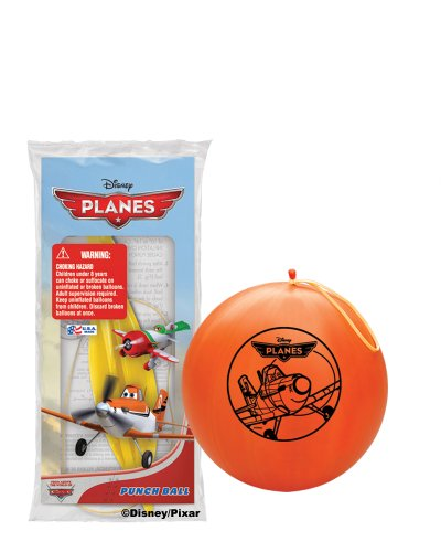 Pioneer National Latex Disney Planes Punch Balls, Assorted, 6-Piece