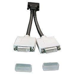 Dell Molex DMS-59 Dual DVI Y-Splitter Cable, H9361