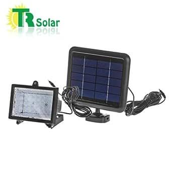 Solar Led Flood Light System 2w Solar Panel 2ah Li Ion