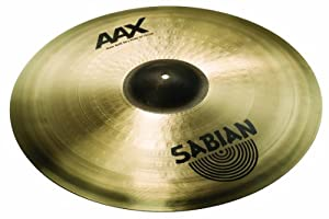 Sabian 21-Inch AAX Raw Bell Dry Ride Cymbal