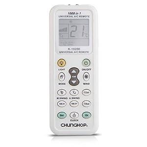 K 1028e t l commande lcd a c universel climatisation pour climatiseur haier high tech - Telecommande climatiseur universel ...