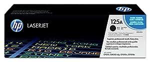HP 125A Original Tonerkartusche (CB540A) (für HP LaserJet Drucker) schwarz