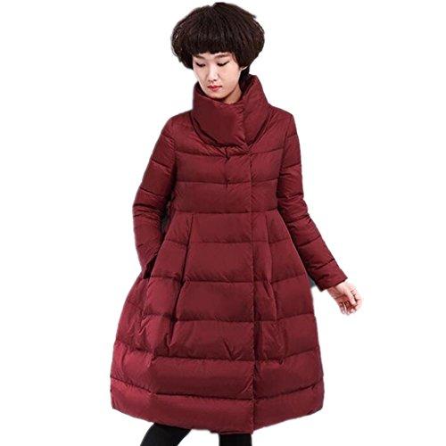 zyqyjgf-stand-collar-femme-enceinte-cape-down-jacket-femmes-epaissie-leger-chaud-en-vrac-solides-man