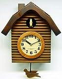さんてる 手作り!国産 アンティーク鳩時計 (QL650_BR) 【日本製】
