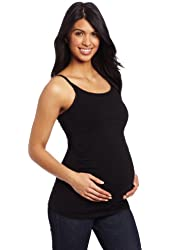 Maternal America Women's Maternity and Nursing Side Ruched Camisole