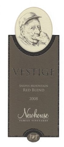 "2008 Newhouse Upland Vineyards Snipes Mountain ""Vestige"" Blend-Red 750 Ml"