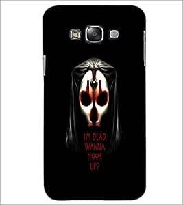 PrintDhaba Quote D-3766 Back Case Cover for SAMSUNG GALAXY A8 (Multi-Coloured)