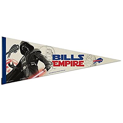 Buffalo Bills Official NFL 30 inch Star Wars Darth Vader Premium Pennant by Wincraft 388049