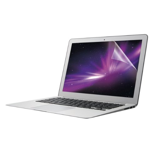 ELECOM MacBookAir13インチ対応 液晶保護フィルム 指紋防止 エアーレス加工 光沢タイプ EF-MBA13FLFANG