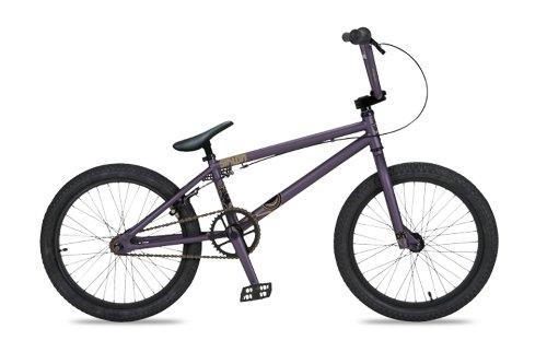 Dk Siklon Bmx Bike With Black Rims (Purple, 20-Inch)