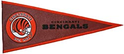 Cincinnati Bengals - NFL Pigskin Traditions Pennant NFL (Pennant Wallhanging)