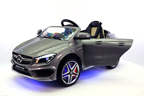2016 12v mercedes cla45 electric powered battery operated led wheels kids ride on toy car with parental remote control little kid cars