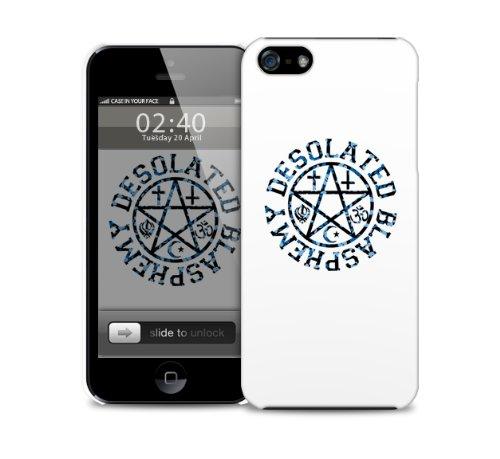 Desolated Blasphemy iPhone 4 / 4S di copertura in plastica della cassa del telefono di protezione (immagine mostra iPhone 5 esempio)