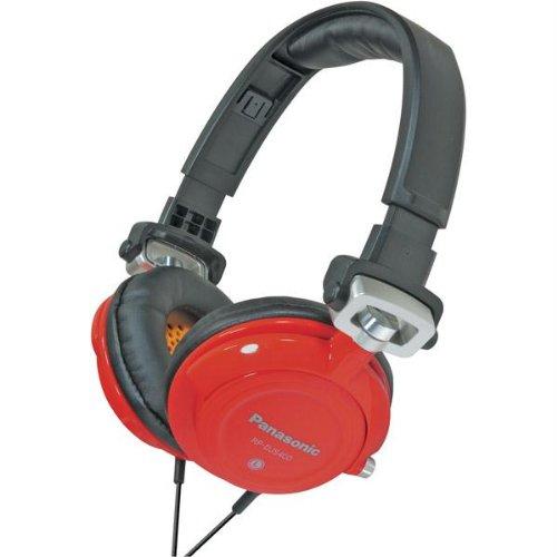 Full Size / Over-Ear-Panasonic Dj Street Model Headphones - Red