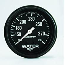 Auto Meter 2313 Autogage Mechanical Water Temperature Gauge