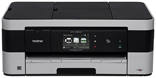 Brother Printer MFCJ4620DW Wireless Colour Inkjet Photo Printer with ScannerCopier and Fax
