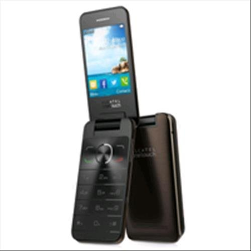 Alcatel OT 20-12G Telefono Cellulare, 16 MB, Marchio TIM, Dark Chocolate