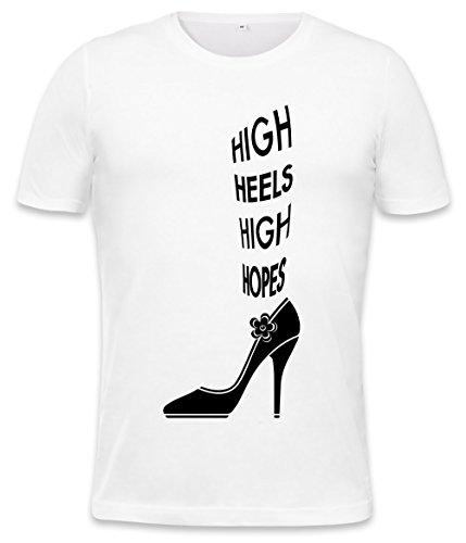 High Heels High Hope Mens T-Shirt Small
