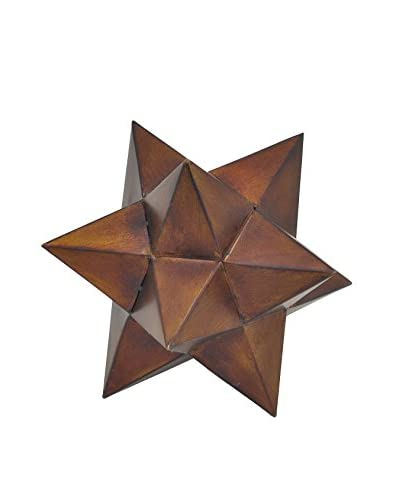 Three Hands Geometric Table Sculpture, Bronze